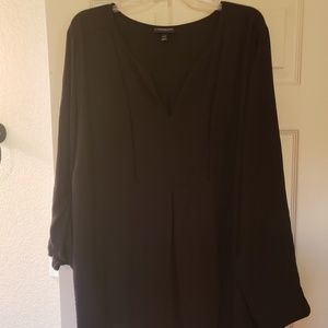 Brand New Lane Bryant Black blouse top